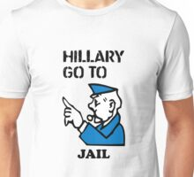 Hillary Clinton Go To Jail Unisex T-Shirt