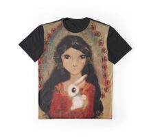 Anime Snow White Graphic T-Shirt