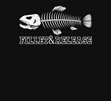 Fillet And Release T-Shirt, Fisherman Love Fishing Quote Shirt Unisex T-Shirt