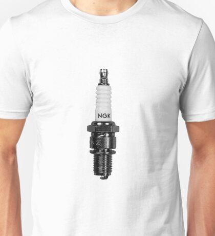 ASH VS EVIL DEAD Pablo Spark Plug NGK R Unisex T-Shirt