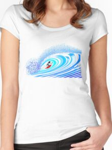 Untubed! Women's Fitted Scoop T-Shirt