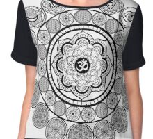 Great Mandala Chiffon Top
