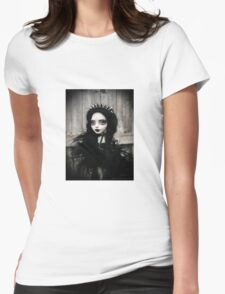 Gothic doll Womens Fitted T-Shirt
