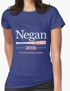 Negan 2016 (The Walking Dead) Womens Fitted T-Shirt