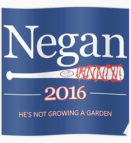 Negan 2016 (The Walking Dead) Poster