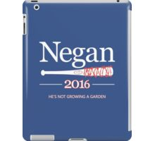 Negan 2016 (The Walking Dead) iPad Case/Skin