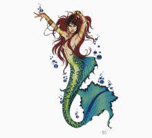 Mermaid Pin-up by tigressdragon