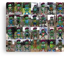 Clyde's Trail - Glasgow 2014 Mascot Canvas Print