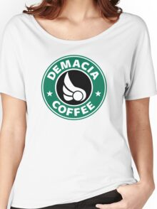 Demacia Coffee Women's Relaxed Fit T-Shirt