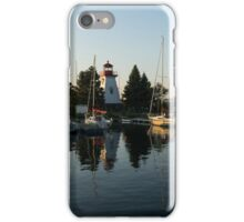 Hot Summer - Clear Sky and Sunshine at the Yacht Club iPhone Case/Skin