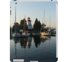 Hot Summer - Clear Sky and Sunshine at the Yacht Club iPad Case/Skin