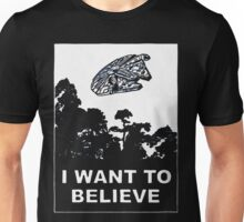 i want to believe (enterprise) Unisex T-Shirt