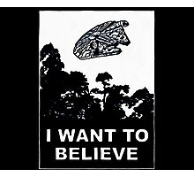 i want to believe (enterprise) Photographic Print