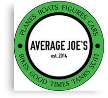 Average Joe's Scale Models S Canvas Print