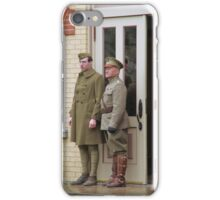 Hanging With General Pershing  iPhone Case/Skin