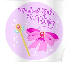 Magical Girl in Training Poster
