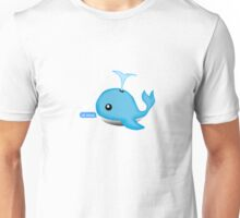 Oh Whale Unisex T-Shirt