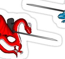 Duel Jousting Game Sticker Sheet #2 Sticker