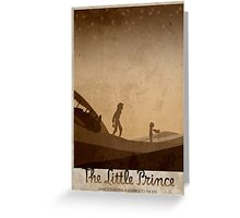 The Little Prince Greeting Card