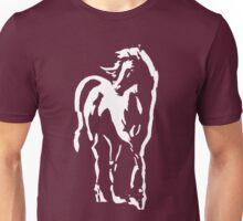 stallion on dark tee Unisex T-Shirt