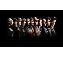 Doctor Who - the Eleven Doctors Photographic Print