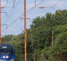 Amtrak Acela 2006 and Septa Local Train Sticker
