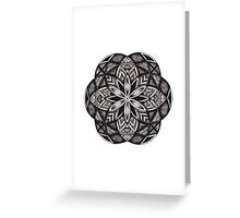 Lost Mandala Greeting Card