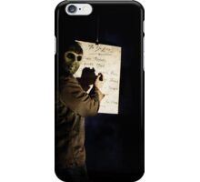 thursday the 12th iPhone Case/Skin