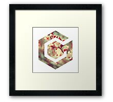 Gamecube Floral Framed Print