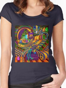 The Conductor of Consciousness Women's Fitted Scoop T-Shirt