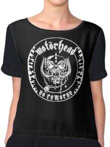 Motorhead (No Remorse) Chiffon Top