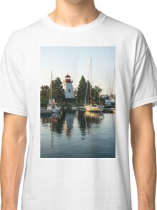 Picture Perfect - Little Lighthouse Framed by Yachts Classic T-Shirt