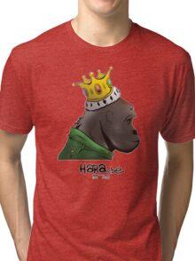 King Harambe (Gorillaz Style) Tri-blend T-Shirt