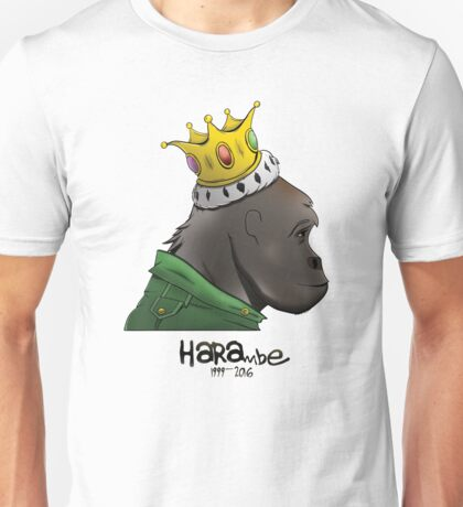King Harambe (Gorillaz Style) Unisex T-Shirt
