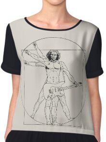 Vetruvian Rock Star  Chiffon Top