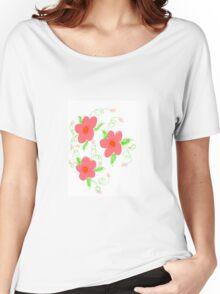 Sweet Pink Kiss Women's Relaxed Fit T-Shirt