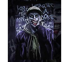 Logic Joker Photographic Print
