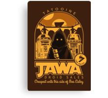 Jawa Droid Sales Canvas Print