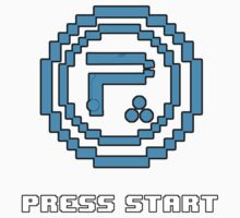 Periphery 8-bit Blue/Select Difficulty Kids Tee