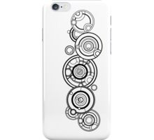 Doctor Who - the Name of the Doctor (Circular Gallifreyan) iPhone Case/Skin