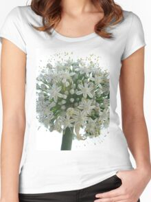Onion Flower Women's Fitted Scoop T-Shirt