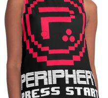 Periphery 8-bit Red/Ketchup Vs. Mustard Contrast Tank