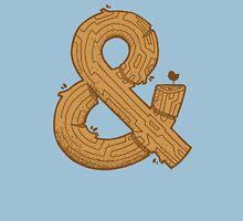 Wooden Ampersand Unisex T-Shirt