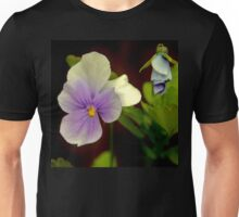 This Viola is no pansy.  Unisex T-Shirt