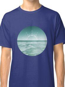 Sunrise in Aqua Classic T-Shirt