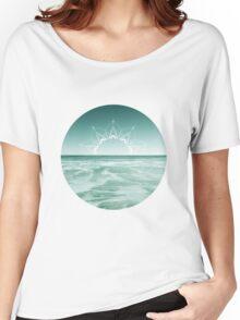 Sunrise in Aqua Women's Relaxed Fit T-Shirt