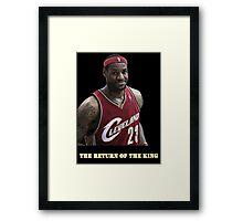 The Return of the King Framed Print