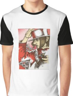Pen and Ink Graphic T-Shirt