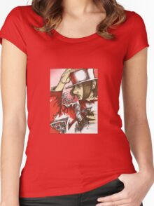 Pen and Ink Women's Fitted Scoop T-Shirt