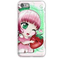 Strawberry chibi iPhone Case/Skin
